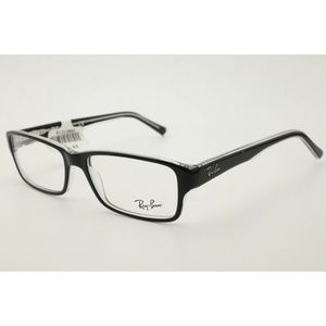 Ray Ban RB 5169 2034 Black Clear Eyeglasses 54mm